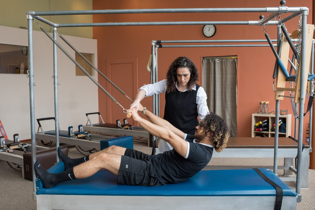 Incorporating Pilates into treatment.